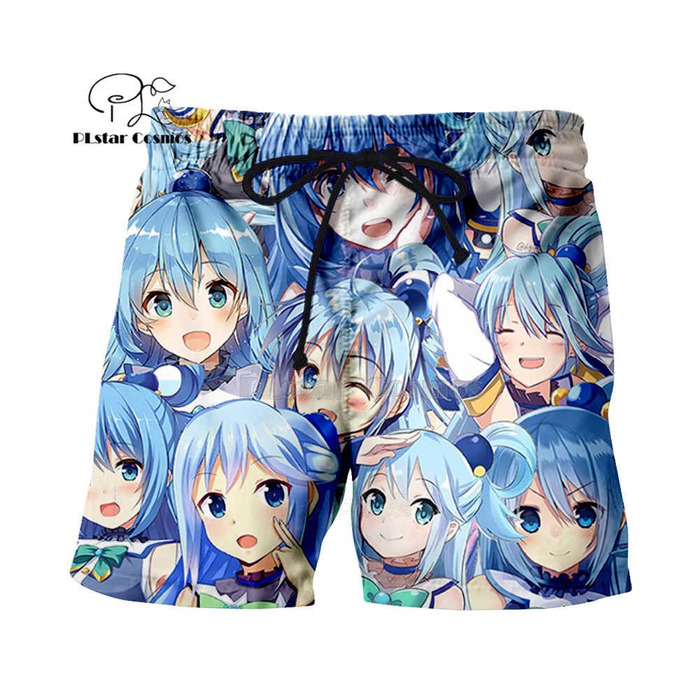 PLstar Cosmos Aquarius chica Cielo Azul Fresco 3d sudaderas con capucha/camisa/sudadera Hipster Anime Unisex cara Tops Kawaai Pullovers -11