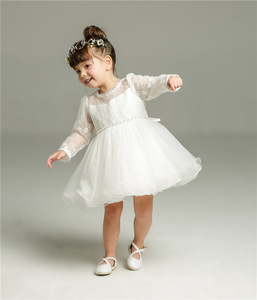 Image 5 - Hetiso Baby Girl chrzest sukienka niemowlę chrzciny sukienki dla dziewczynek 1 pierwsze urodziny Party księżniczka suknia na ślub 3 24M