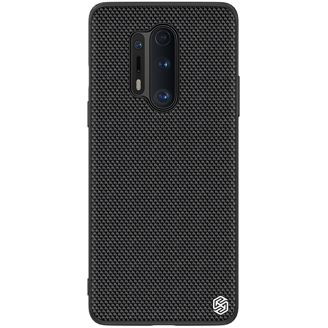 for oneplus 8 pro Case Cover NILLKIN textured pattern matte hard soft back cover Mobile phone black shell for oneplus 8 pro