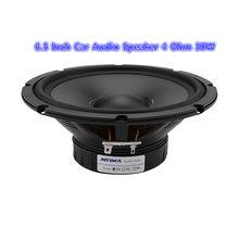 1 Uds coche de 6,5 pulgadas bajos de Audio Speaker 4 8 Ohm 30W intermedios Woofer de alta sensibilidad Multimedia altavoz de Teatro en Casa