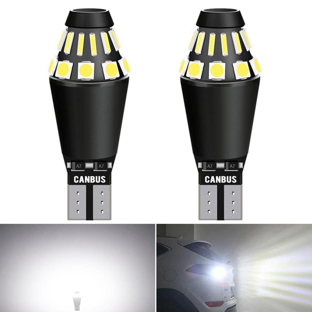 Lampe d'extérieur de voiture, ampoule Canbus, 2x LED lm, T15 W16W 921, lampe blanche, 912 K 6000, 12V, pour Mazda 3 6, CX-5, 323, 5, CX5 2 626