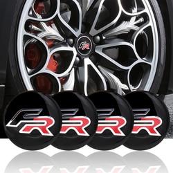 4 шт./компл. центральный колпак на колесо автомобиля, наклейки на авто Стайлинг для Seat leon FR + Cupra Ibiza Altea Exeo формула гоночный автомобиль аксессу...