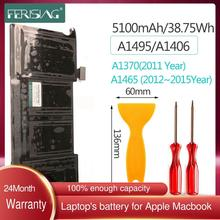 FERISING Neue A1406 laptop Batterie für Apple MacBook Air 11 \