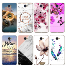 For Huawei Y7 2017 Case Y7 2019 Silicon Back Cover Phone Case For Huawei Y7 TRT-LX1 TRT-LX2