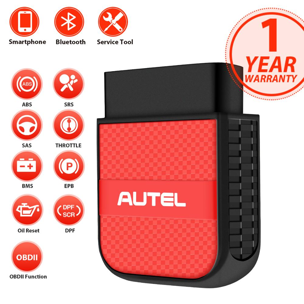 Throttle for iOS /& Android in-App Purchase Airbag Resets BMS Services for Specific Vehicles Autel AP200C MaxiAP Wireless OBD2 Scanner with ABS Auto Bleed Oil EPB ABS//SRS Diagnosis SAS DPF
