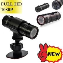 цена на Hot Mini F9 Camera HD Bike Motorcycle Helmet Sports Action Camera Video DV Camcorder Full HD 1080p Car Video Recorder dfdf