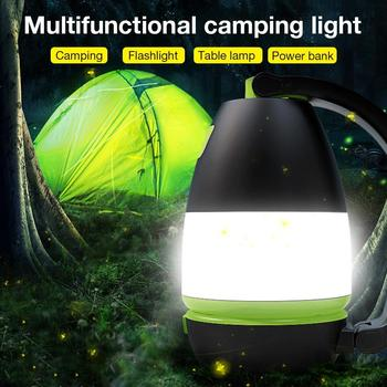 LED Multifunctional Camping Light USB Rechargeable Flashlight Spotlight Work Light Outdoor Portable Searchlight Emergency Torch yupard 100w 50w flood light searchlight spotlight brightness led flashlight outdoor camping 18650 rechargeable battery charger