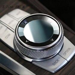 Auto Styling Multimedia Tasten schalter Abdeckung Aufkleber panel für BMW 5 series G30 G38 X3 G01 6 serie gt Innen auto Zubehör