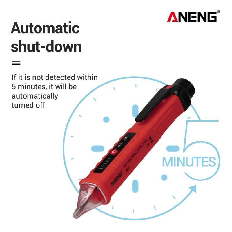Aneng VC1010 AC//Dc Berührungsloser Stift Tester Volt Strom Elektrisch Test #J