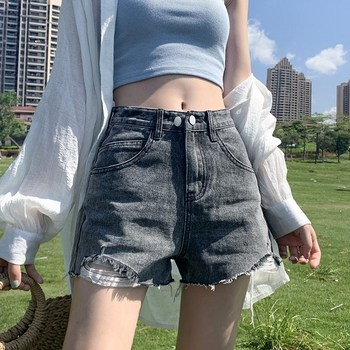 Jean Shorts Womens Plus Size Denim Sexy Jesns Club Losse Straight High Waist Women