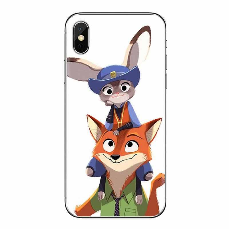 Para Xiaomi rojo mi 4 3 3S Pro mi 3 mi 4 mi 4i mi 4C mi 5 mi 5S mi Max Note 2 3 4 suaves fundas transparentes nuevo Lovely Crazy Zootopia conejo
