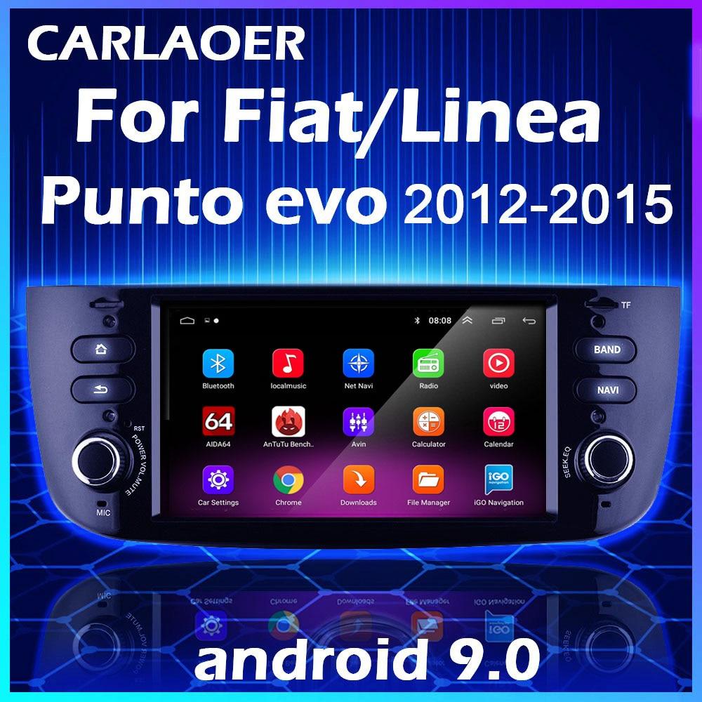 Автомобильный мультимедийный плеер на Android для Fiat Linea Punto EVO 2012 2013 2014 2015 Grande Linea 2007-12, радио, стерео, GPS-навигация