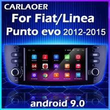 Coche Android para Fiat Linea Punto EVO 2012, 2013, 2014, 2015 Grande Linea 2007-12-12 Auto Radio estéreo navegación GPS reproductor Multimedia