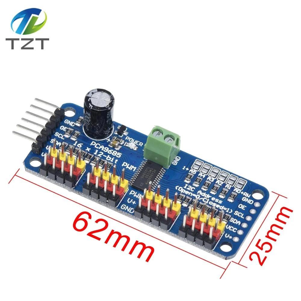 16-channel 12-bit i2c PMW Driver Servo PCA9685 For Arduino M96 New quality