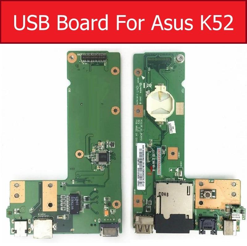 USB DC IN Power Jack Board For Asus K52JB K52JC K52JR K52JE K52DR K52N K52J