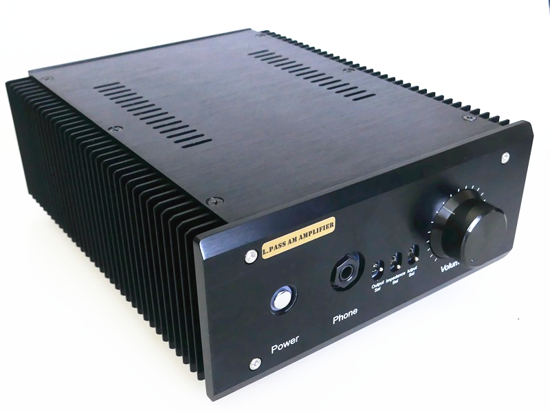 Finished L.Pass Am Se 20W*2 Pure Class A Power Amplifier&HiFi Headphone Amplifier