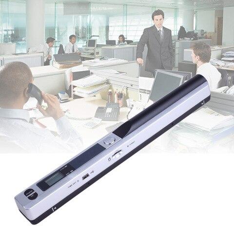 display lcd portatil instantaneo do varredor 900 dpi para a imagem do documento do formato