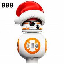 1 шт. 2021 Новый SW661 BB8 BB-8 BB 8 BB9E BB-9E надувного робота строительные блоки Минифигурки игрушечные мини-фигурки