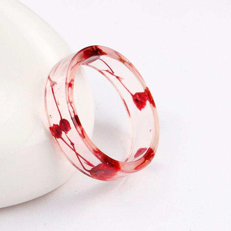 2019 очаровательные красочные круглые кольца для мужчин, новый стиль, кольцо из прозрачной смолы ручной работы, кольца из эпоксидной смолы с с...