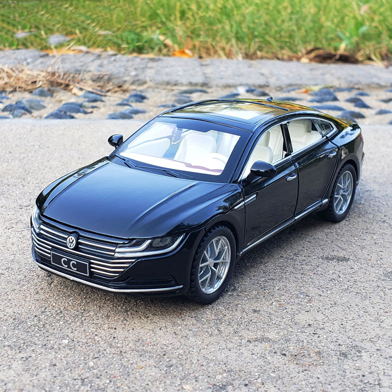 1:32 VW CC Arteon Car Model Alloy Diecast Toy Model Pull Back Children Fun Gift