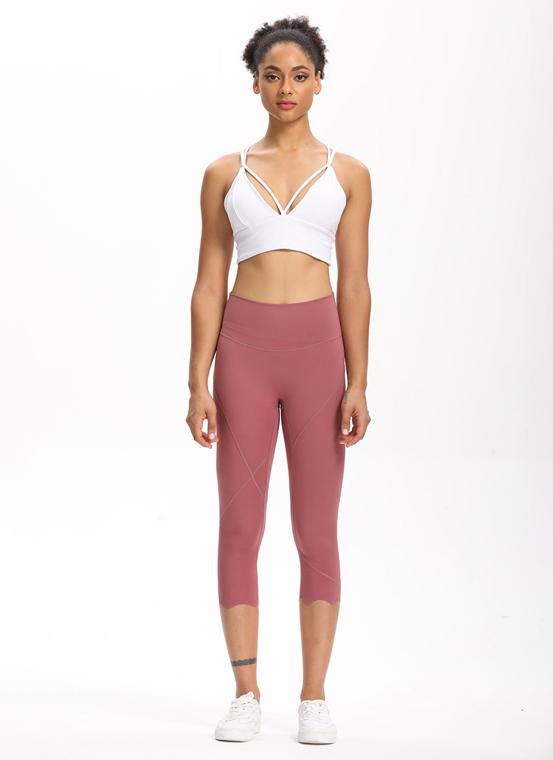 Hb196fe6684ab46c0aec1221a189f725ef Cardism High Waist Sport Pants Women Yoga Sports Gym Sexy Leggings For Fitness Joggers Push Up Women Calf Length Pants Wave
