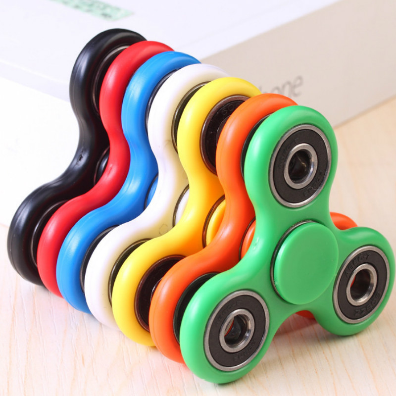 Fidget Spinner Finger Tip Spiral Decompression Children Toy   Stress Relief Toy