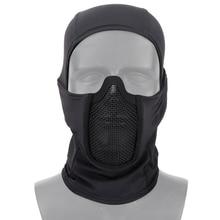 Охотничья Маска защитная стрельба военные головные уборы аксессуары пейнтбол тактический дышащий легкий страйкбол и CS маски