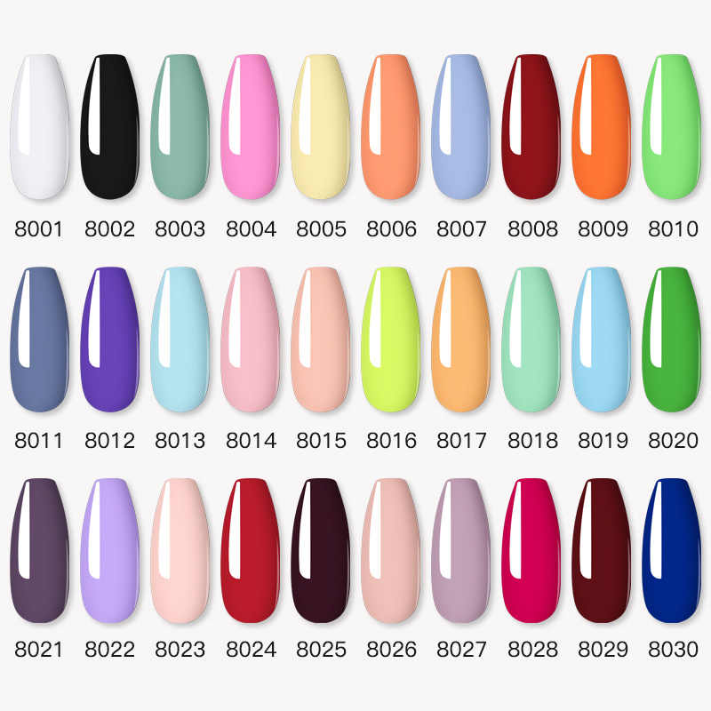 Nailwind Gel Nagellak Vernissen Pure Kleur Semi Permanente Base Top Nodig Uv Led Lamp Manicure Verf Hybrid Nagels Gel polish