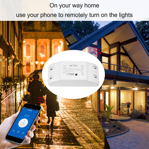 Image 5 - Tuya Wifi умный таймер беспроводной пульт дистанционного управления Универсальный Умный дом модуль автоматизации для Alexa Google Home