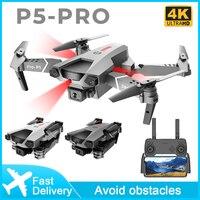 2021 neue P5 Pro Drone 4K Profesional dual Kamera infrarot hindernis vermeidung Quadcopter RC Kamera Eders Hubschrauber Spielzeug