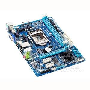 Image 3 - Gigabyte GA H61M DS2 เมนบอร์ด LGA 1155 DDR3 16GB สำหรับ Intel H61 H61M DS2 เดสก์ท็อปเมนบอร์ด SATA II Micro ATX Systemboard ใช้