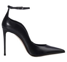 цена на Sandals Woman 2019 Black Sharp Sexy Ankle Hasp Women's Shoes