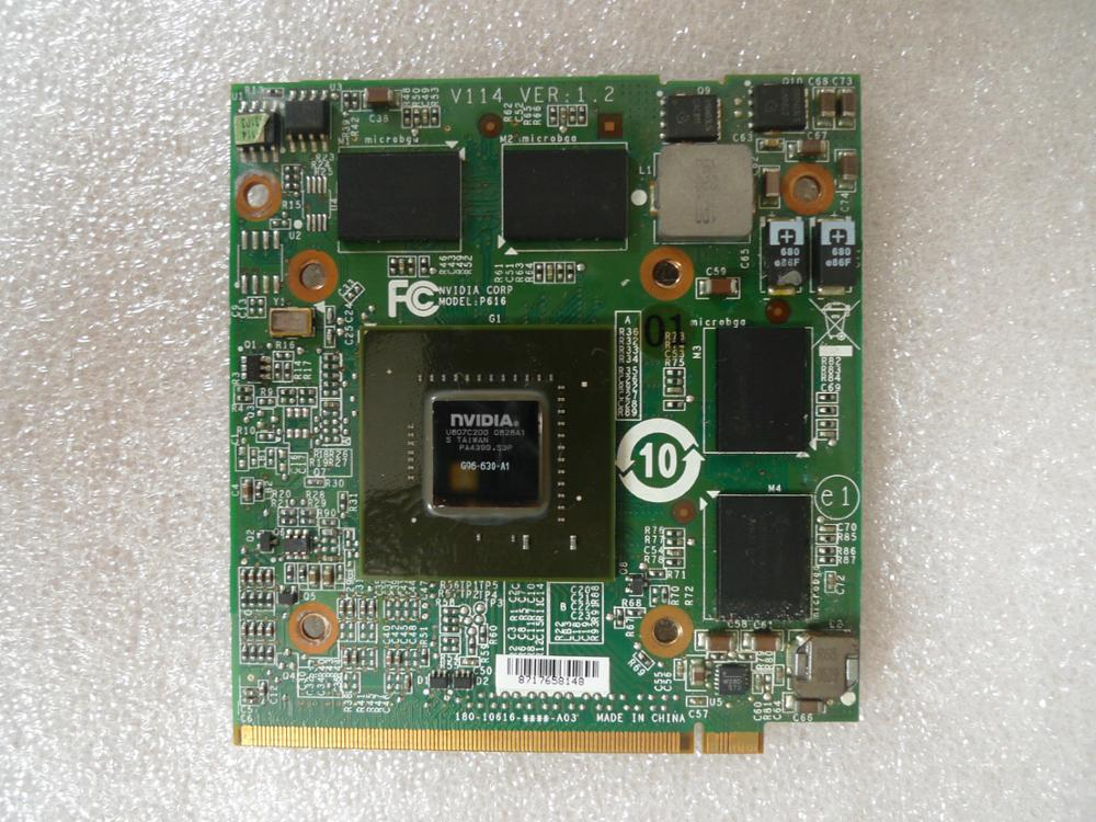 Kai-full para Acer Gráfica de Vídeo para Gddr3 Aspire 5720g Laptop Placa 512mb Nvidia Geforce 9600m gt Mxm 6930 5530g 7730g 5930g
