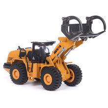 1:50 diecast modelo de carro liga engenharia carro brinquedo móvel metal deslizante veículos de brinquedo caminhão para crianças brinquedo decoração do carro presente