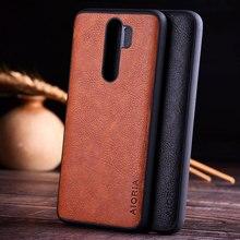 מקרה עבור xiaomi redmi note 8 Pro יוקרה בציר עור עור קאפה עם חריץ טלפון כיסוי עבור xiaomi redmi note 8 מקרה funda coque