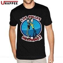 Camiseta de manga corta de algodón con cuello redondo de Breaking Bad para hombre