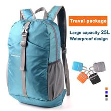 Waterproof Travel Backpack Bag For Men Women Foldable Folding Backpacks Outdoor Luggage Bags Camping Hiking Mountaineering