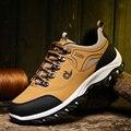 Sapatos masculinos sapatos de escalada caminhadas sapatos de caminhada ao ar livre sapatos de desporto casual desgastar-oposição tênis de trekking