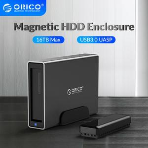 ORICO NS Series 3.5'' USB3.0 to SATA HDD Docking Station Aluminum MAX 16TB HDD Case Support UASP 12V2A Power HDD Enclosure