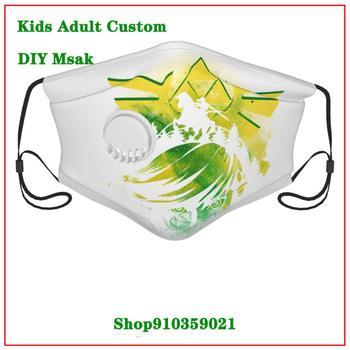 Zelda Retro Gamer DIY value mask for face fashion Luxury Brand mascarilla lavable    Fashion Brands masque tissus lavable