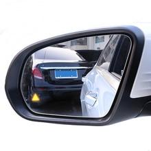 Светодиодный кронштейн бокового зеркала для обнаружения слепых пятен, радар-датчик для безопасности вождения Mercedes Benz X156 X253 X204 GLC GLA GLK