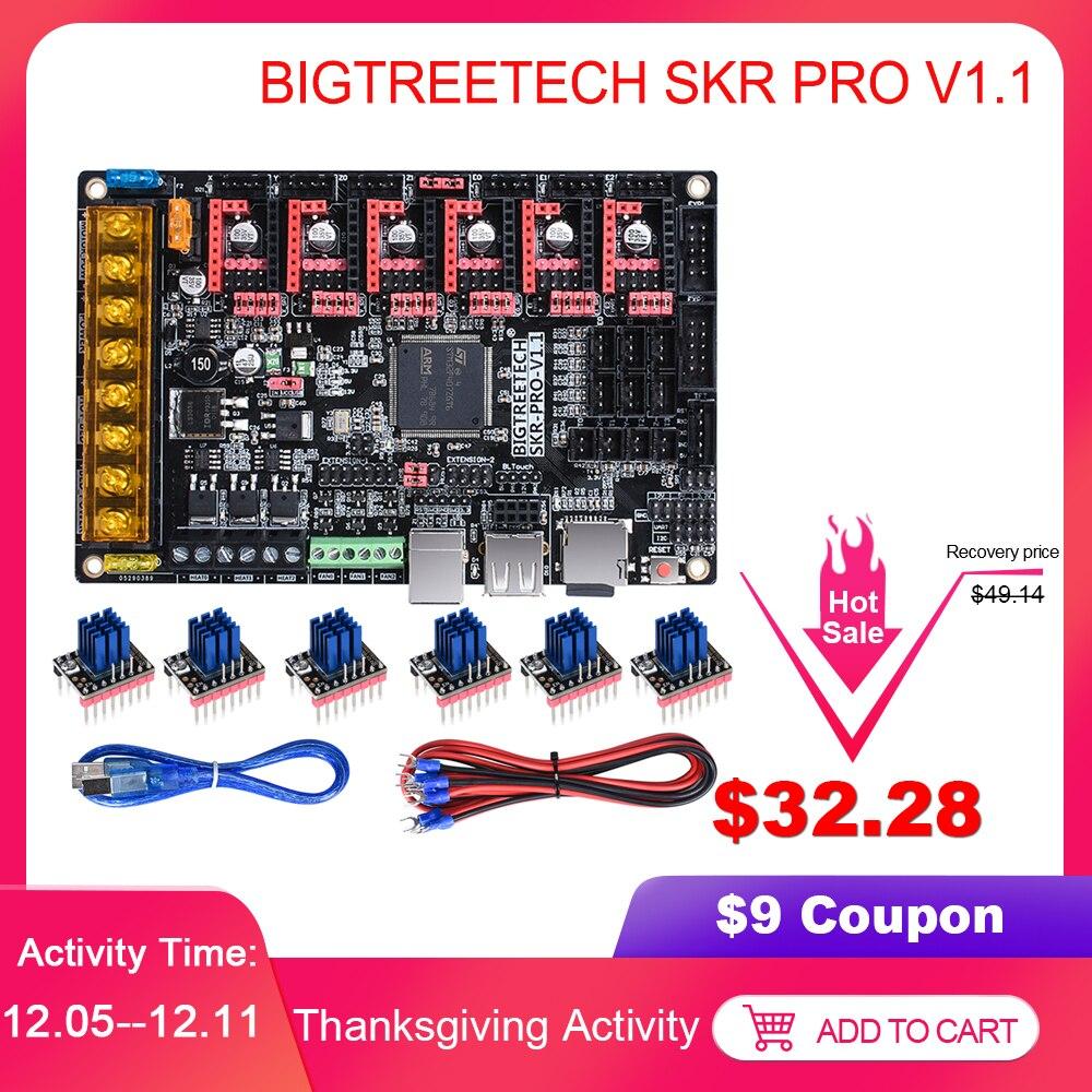 BIGTREETECH SKR PRO V1.1 Control Board 32Bit Board V SKR V1.3 TMC2208 TMC2209 TMC2130 3D Printer Parts MKS Ramps 1.4 For Ender 3
