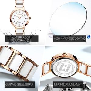 Image 2 - OLEVS Top Brand Luxury Quartz Women Watches Withe WristWatch Life Waterproof Clock Gift Watch For Womens Ladies Relogio Feminino