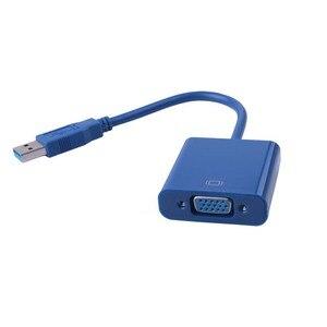 Image 2 - USB 3.0 na kabel adaptera VGA zewnętrzna karta graficzna Video multi display Converter Adapter do komputera Laptop Windows 7 8 10