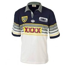 Queensland Cowboys 1995 Retro Jersey Rugby Jersey Sport Shirt S-5XL