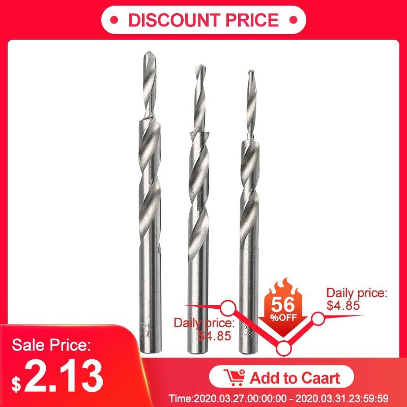 4-8/5-9/6-10mm Twist Step Drill Bit For Woodworking Manual Pocket Hole Drill Bits Tool Accessories