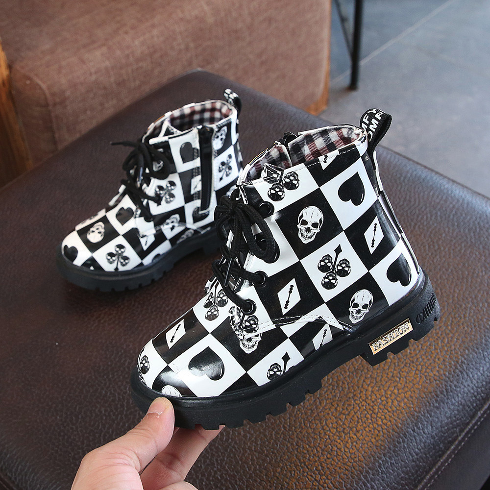 Baby Toddler Kids Motorcycle Boots Cool Baby Infant Girls Boys Autumn Winter Novelty Boots Shoes Sneakers детская зимняя обувь