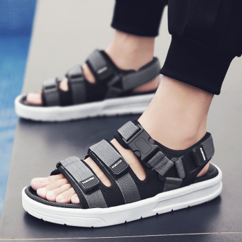 2020 New Summer Casual Shoes Men Sandals Gladiator Sandals Open Toe Platform Outdoor Beach Sandal Rome Footwear Black NANLX17 2017 new fashion hgh top women sandals rome styles open toe summer beach shoes slip on female buckles sandals