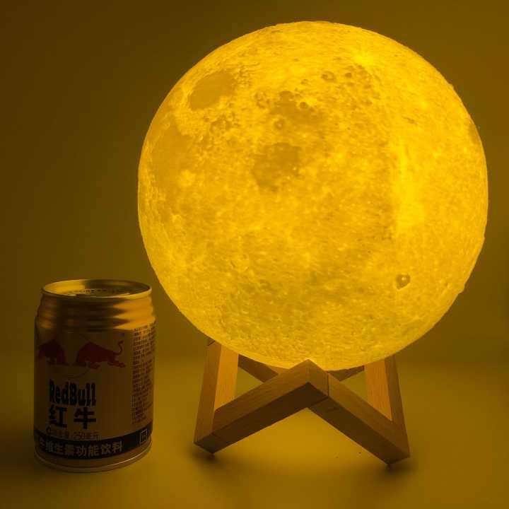 3D принт луна лампа красочное изменение сенсорный Usb светодиодный ночник домашний декор креативный подарок рождественские подарки