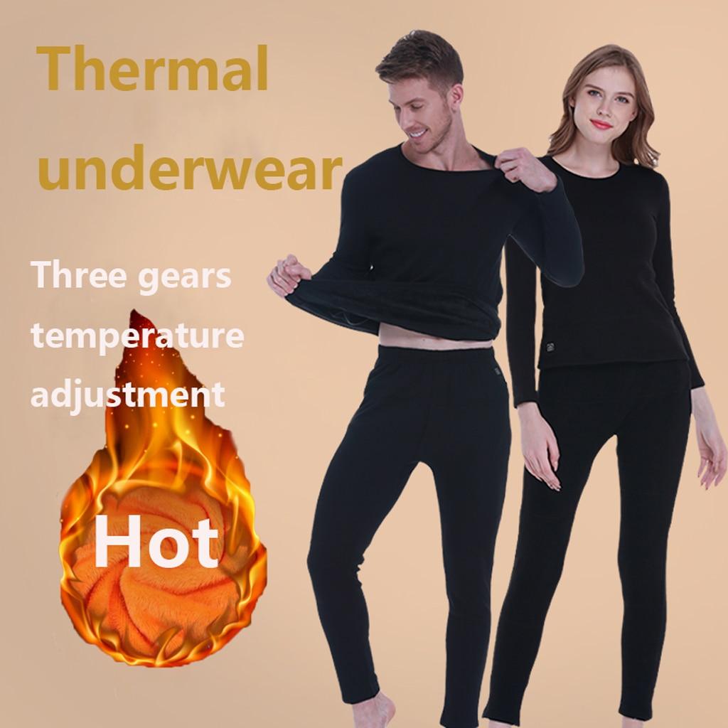 Gli Uomini di Riscaldamento a Temperatura Costante di Biancheria Intima Termica